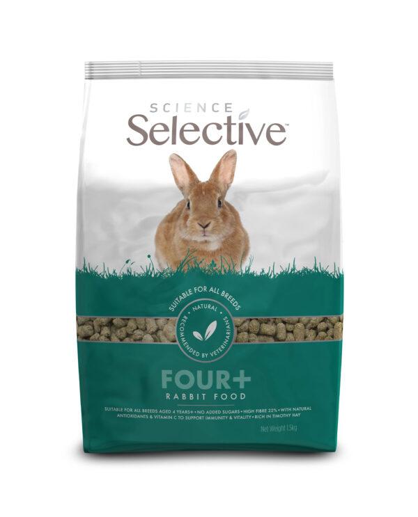 hrana iepuri seniori