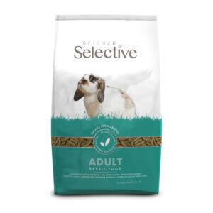 Hrana pentru iepuri bogata in fibre si probiotice, Science Selective, Adult, poza profil