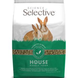 Hrana pentru iepuri cu fan, iarba si cimbru, Science selctive, Adult, 1,5 kg Pachet