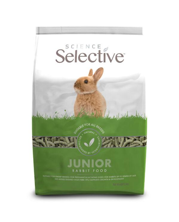 Hrana pentru iepuri tineri, Science Selective, Junior, 1.5 kg