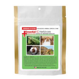 Hrana complementara pentru rozatoar si erbivore in convalescenta, EmerAid IC Herbivore, 100 g