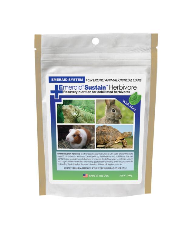 Supliment nutrițional complet pentru erbivore, EmerAid Sustain Herbivore, 100 g