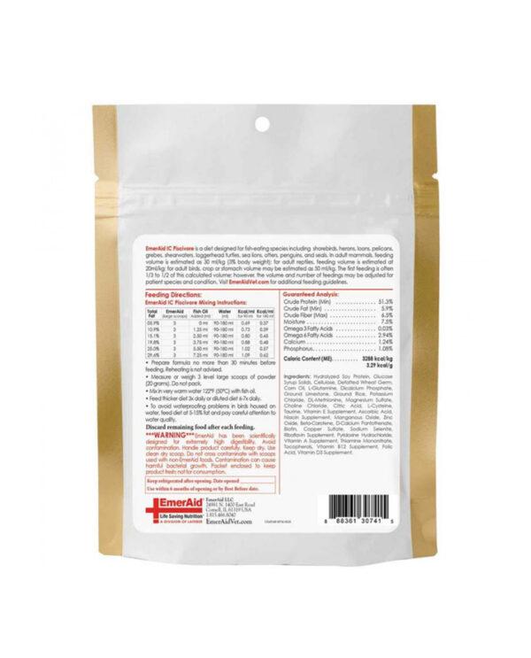 Supliment nutrițional complet pentru piscivore, EmerAid IC Piscivore, 100 g